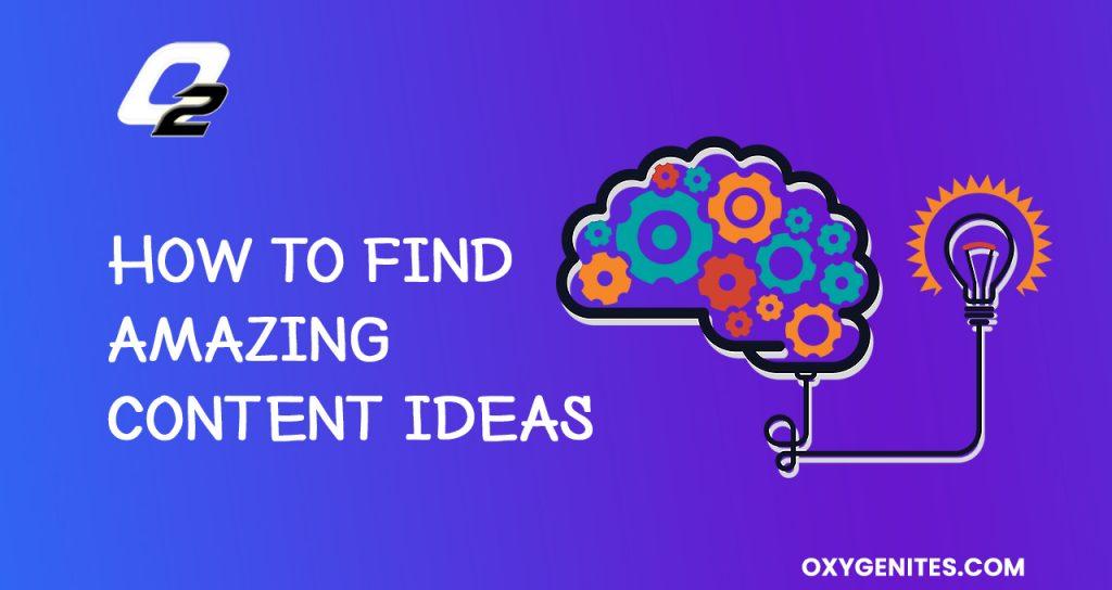 amazing content ideas