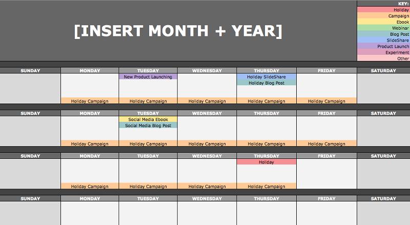 Create A Content Calendar To Be Consistence on TikTok.