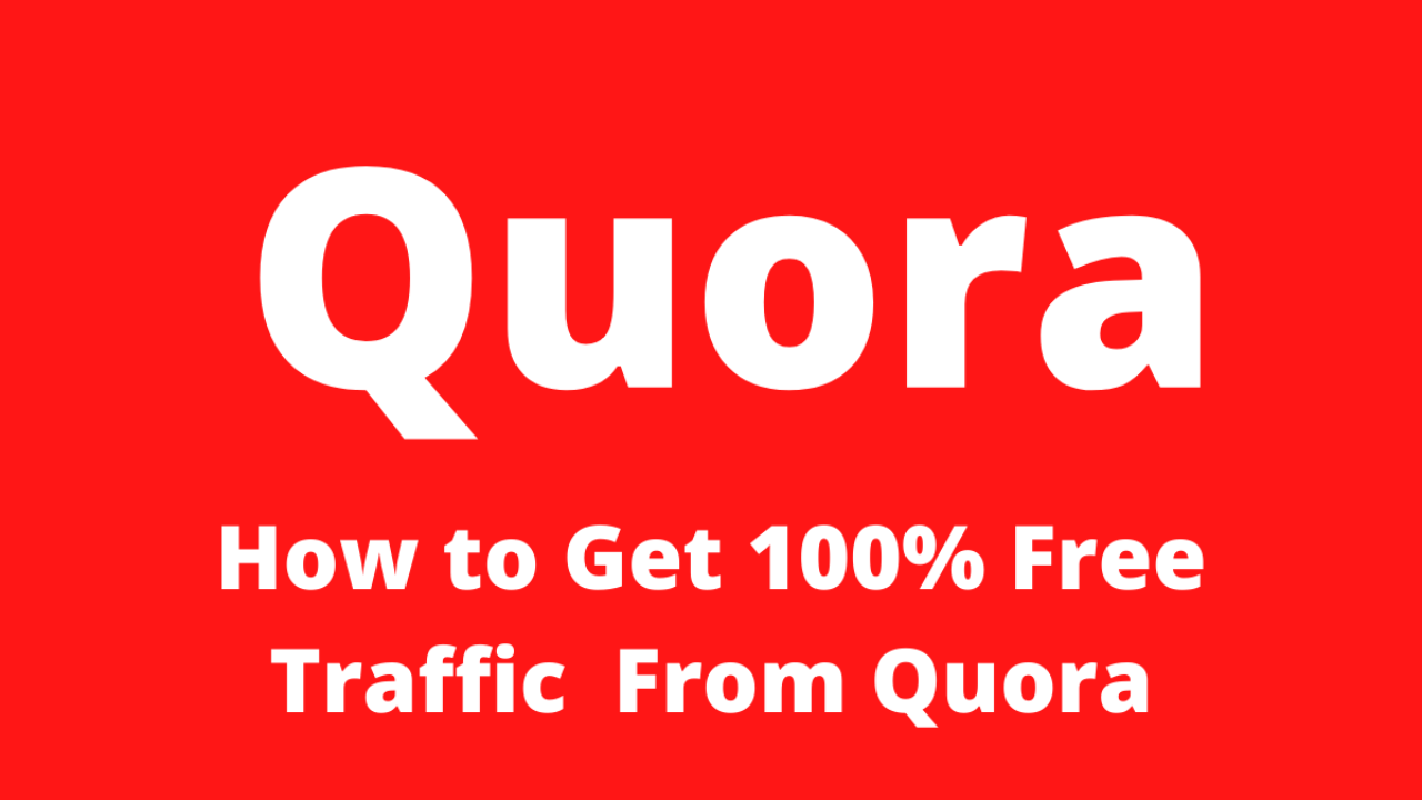 Tips & Tricks tGet Free Traffic From Quora