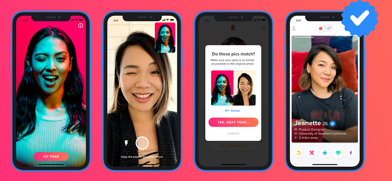 Role of Noonlight for Tinder Verification Service with Blue Badge